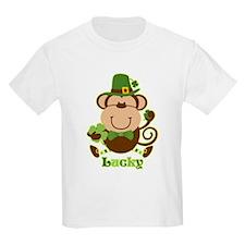 Lucky Irish Monkey T-Shirt