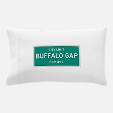 Buffalo Gap, Texas City Limits Pillow Case