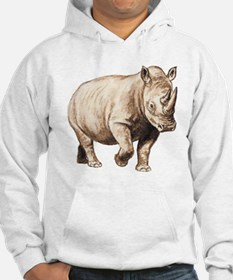 Rhinoceros (Front only) Hoodie