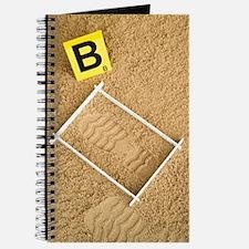 Unique Footprints sand Journal