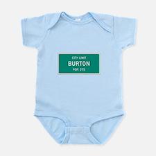 Burton, Texas City Limits Body Suit