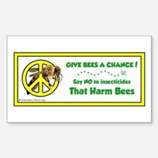 Give Bees A Chance! Decal