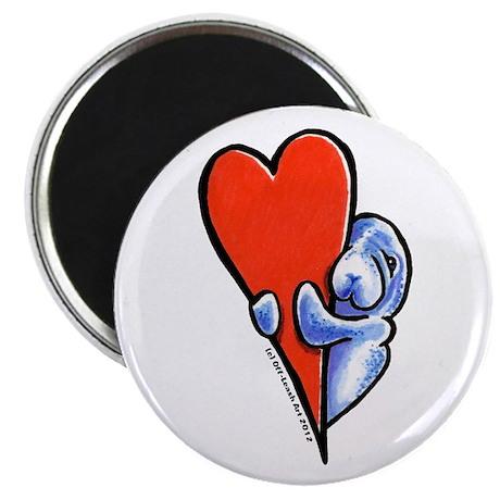 Love Manatees Magnet