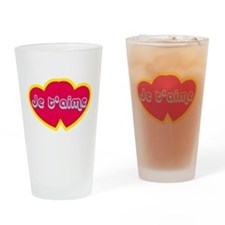 Je t'aime ove You) Drinking Glass