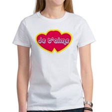 Je t'aime ove You) T-Shirt