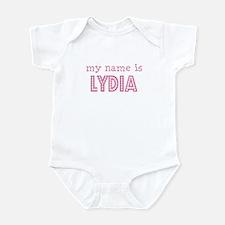 My name is Lydia Onesie