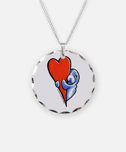 Love Manatees Necklace