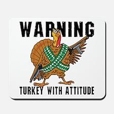 Funny Turkey Mousepad