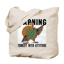 Funny Turkey Tote Bag