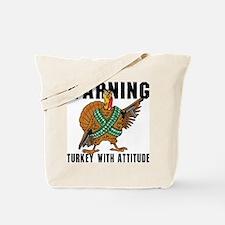 Funny Turkey Tote Bag
