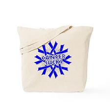 Colon Cancer Sucks Tote Bag