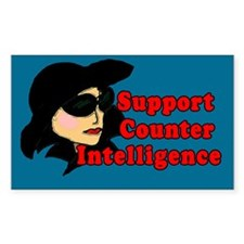 Support Counter Intelligence Tip Jar Decal