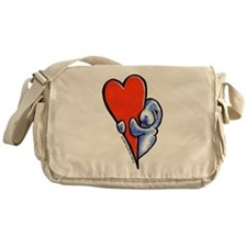 Love Manatees Messenger Bag