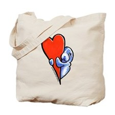 Love Manatees Tote Bag