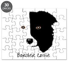 Border Collie Head 1 Puzzle