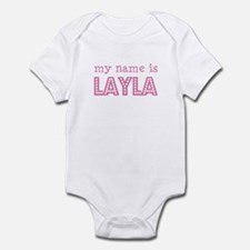 My name is Layla Infant Bodysuit