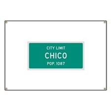 Chico, Texas City Limits Banner