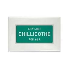 Chillicothe, Texas City Limits Rectangle Magnet