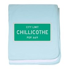 Chillicothe, Texas City Limits baby blanket