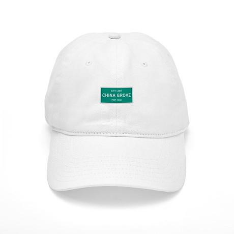 China Grove, Texas City Limits Baseball Cap