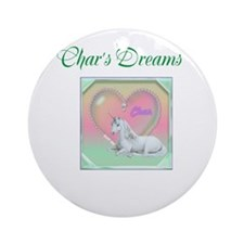 Char's Dreams Ornament (Round)