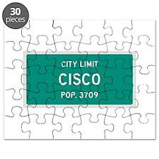 Cisco, Texas City Limits Puzzle