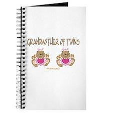 Grabdmother Of Twins (2 Girls) Journal