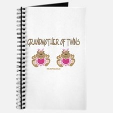 Grabdmother Of Twins (2 Girls) Journal