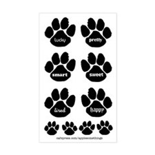 Word Paws Sticker Embellishments