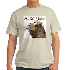 """""""I See Camels!"""" Ash Grey T-Shirt"""