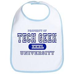 Tech Geek University Bib