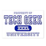 Tech Geek University Postcards (Package of 8)