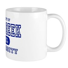 Tech Geek University Small Mugs