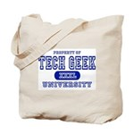 Tech Geek University Tote Bag