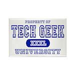 Tech Geek University Rectangle Magnet