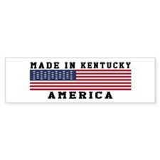 Made In Kentucky Bumper Stickers