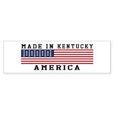Made In Kentucky Car Sticker