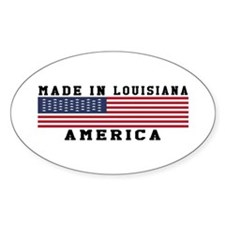 Made In Louisiana Decal