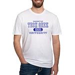 Tech Geek University Fitted T-Shirt
