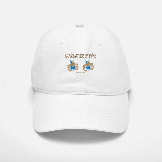 Grandmother Of Twins (2 Boys) Baseball Baseball Cap