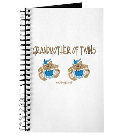 Grandmother Of Twins (2 Boys) Journal