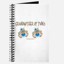 Grandmother Of Twins (2 Boys) Journal