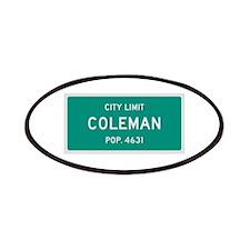 Coleman, Texas City Limits Patches