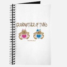 Grandma Of Twins- Boy/Girl Journal