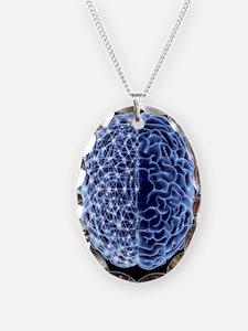 Brain, neural network - Necklace