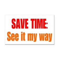 See it My Way Rectangle Car Magnet