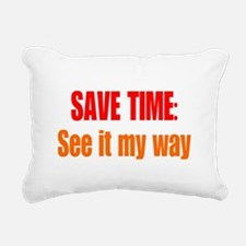 See it My Way Rectangular Canvas Pillow