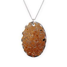 Oolitic limestone rock - Necklace