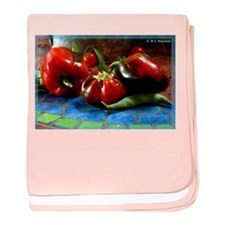 Vegetables! Colorful photo, baby blanket