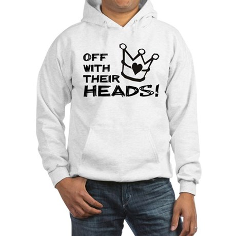 Queen of Hearts - Off With Their Heads Hoodie